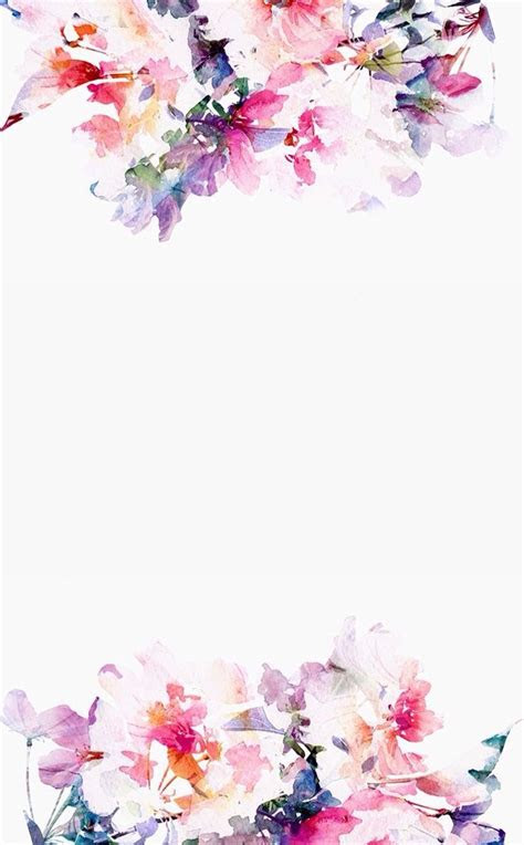 floral iphone wallpaper    paper   wall