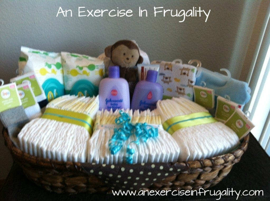 How To Make A Budget Baby Shower Basket