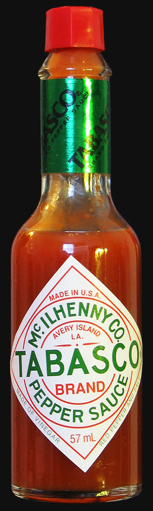 Original Tabasco red pepper sauce