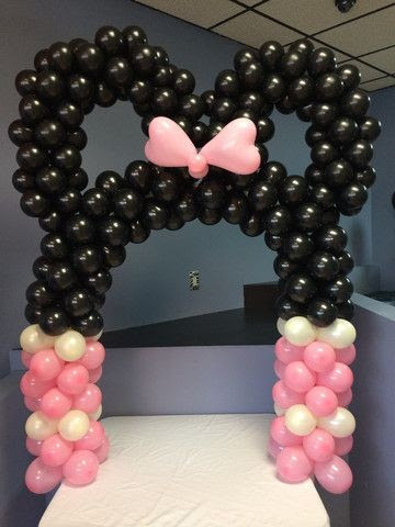 Diy Minnie Mouse Or Mickey Mouse Arch Kit Air Filled Arch Fits Over