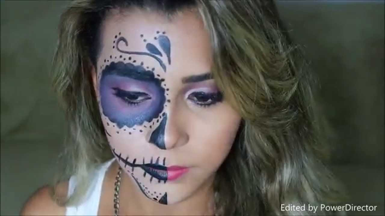 Half Face Halloween Makeup Ideas Everyone Love To Try A Diy Projects