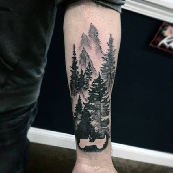 Jeep Tattoo Designs For Gentlemen