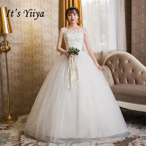 Free Shipping 2017 Plus size O neck White Tulle Cheap Lace