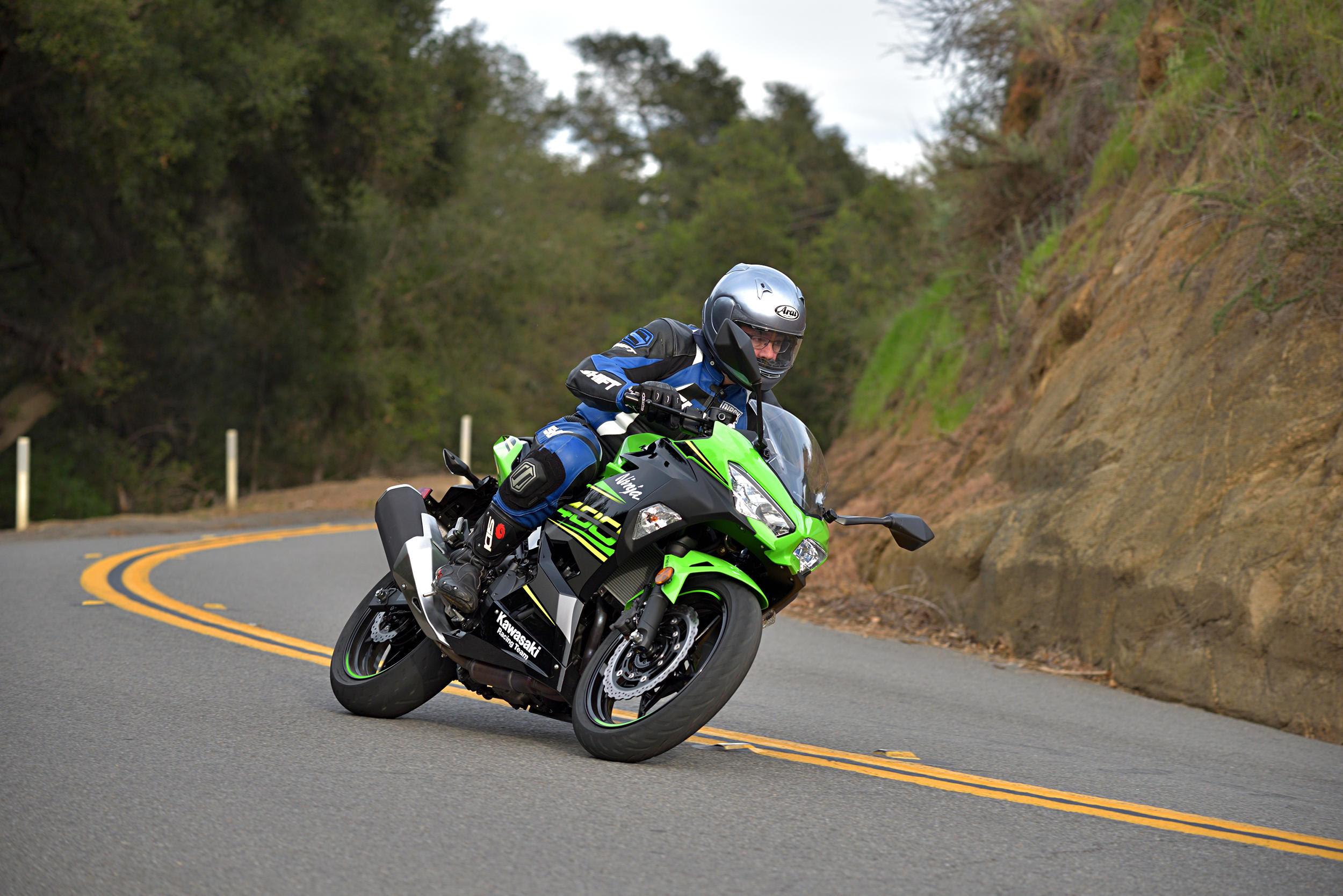 2018 Kawasaki Ninja 400 Abs Md Ride Review