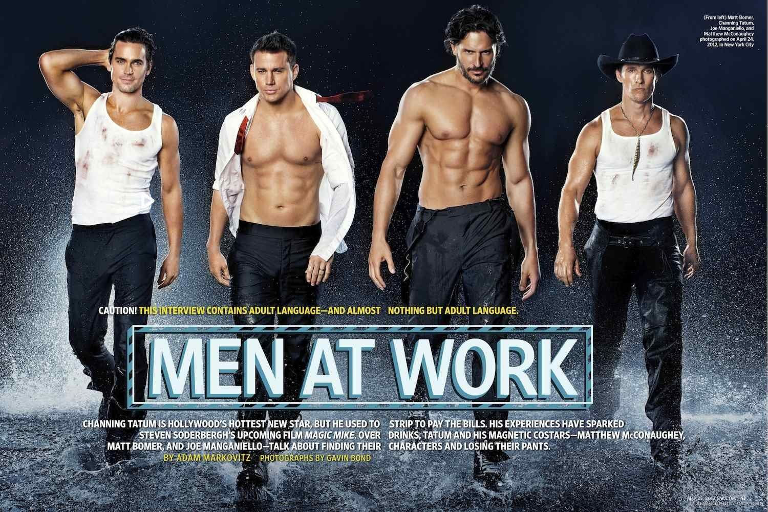 Entertainment Weekly (May 25, 2012), Channing Tatum, Matthew McConaughey, Matt Bomer, Joe Manganiello