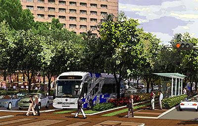 Image result for Galleria BRT line