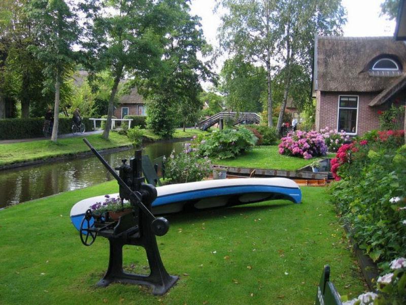 Giethoorn, a Veneza rural da Holanda 17
