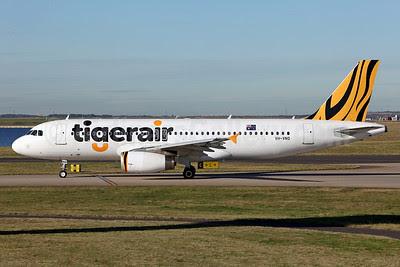 Tigerair (Australia) Airbus A320-232 VH-VNQ (msn 5218) SYD (John Adlard). Image: 913078.