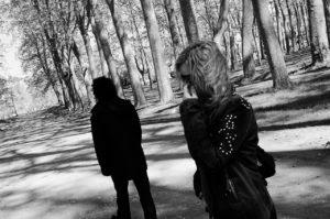 Yin und Yang im Wald • Wild Life Coaching