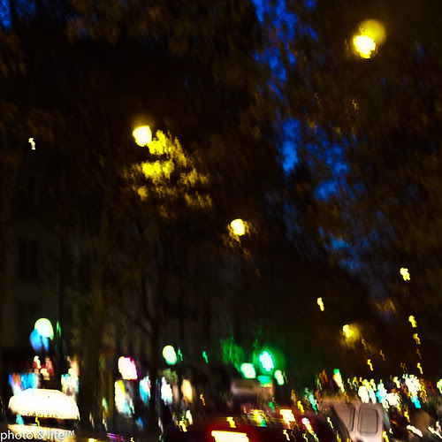 Avenue de Clichy la nuit  by Jean-Fabien - photo & life™