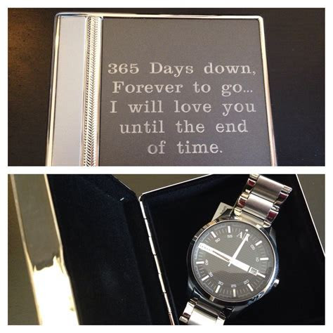 1st wedding anniversary   gift for husband   engraved box