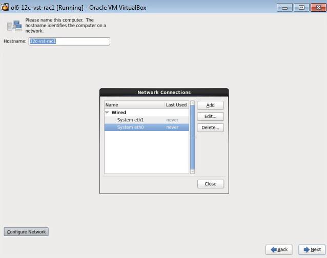 Oracle 12c RAC installation on VMWare 2