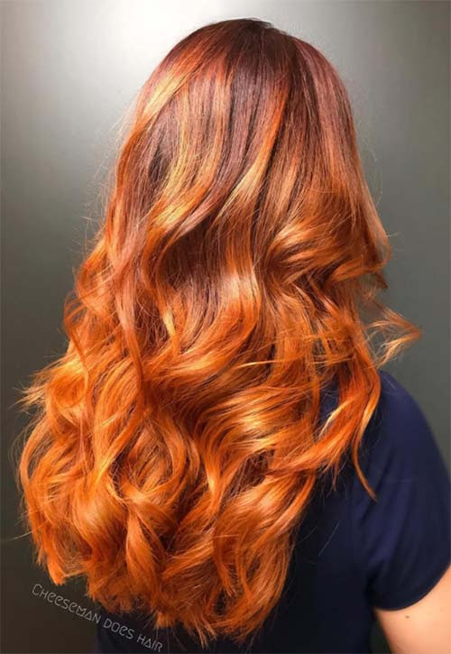 50 Copper Hair Color Shades to Swoon Over  Fashionisers\u00a9