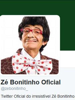 Twitter do ator Jorge Loredo (Foto: Reprodução)