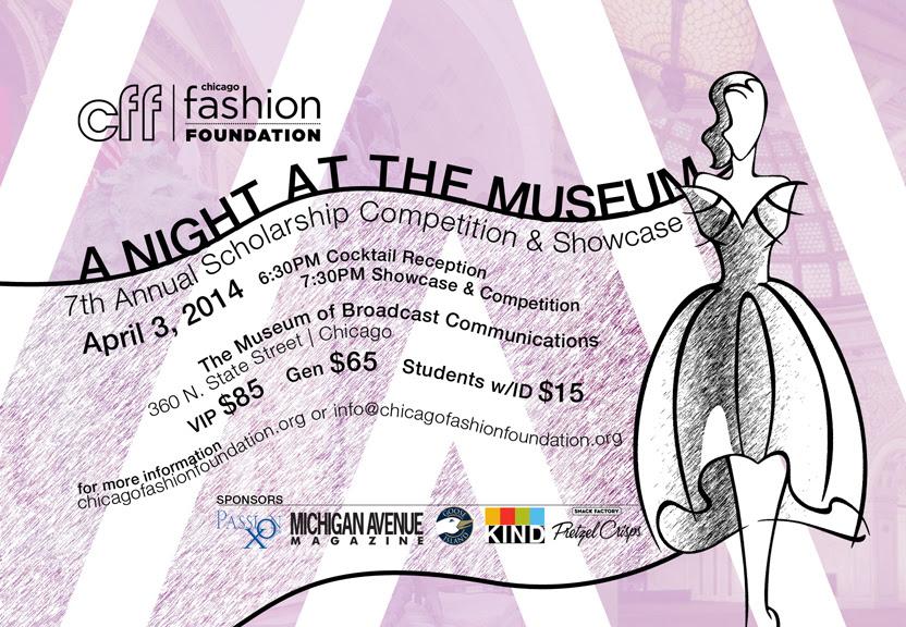 Chicago Fashion Foundation 2014 Scholarship Showcase & Competition