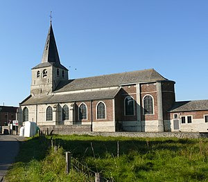 Church of Saint Ermelinde in Meldert, Hoegaard...