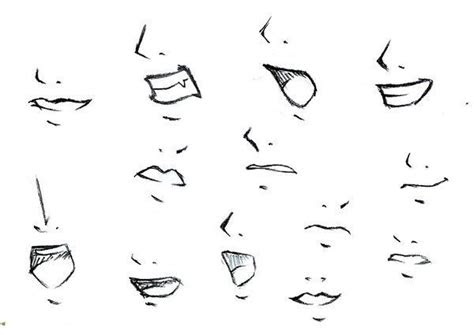 anime mouths  noses anime pinterest search hands