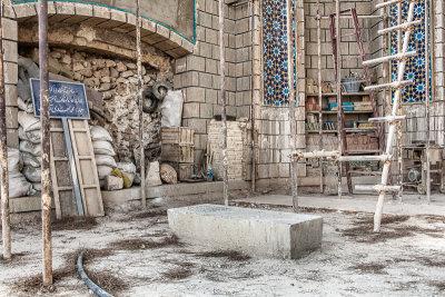 Baba Kuhi's modest grave