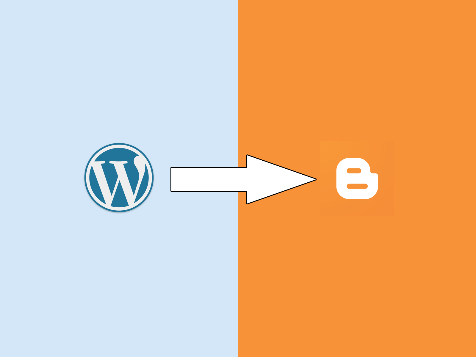 Image result for wordpress to blogger