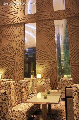 Lobby at Acacia Hotel Manila