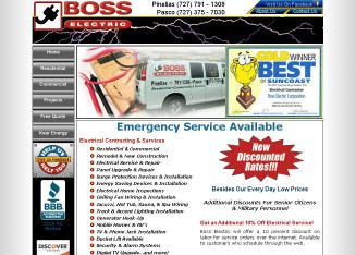 Boss Electric Corp in Palm Harbor, FL | 973 Virginia Ave Ste 1 - 3 ...