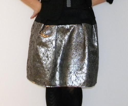 moda blog gümüş etek