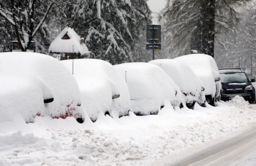 Zakopane Poronin I Biały Dunajec Przykryte śniegiem Radiomaryjapl