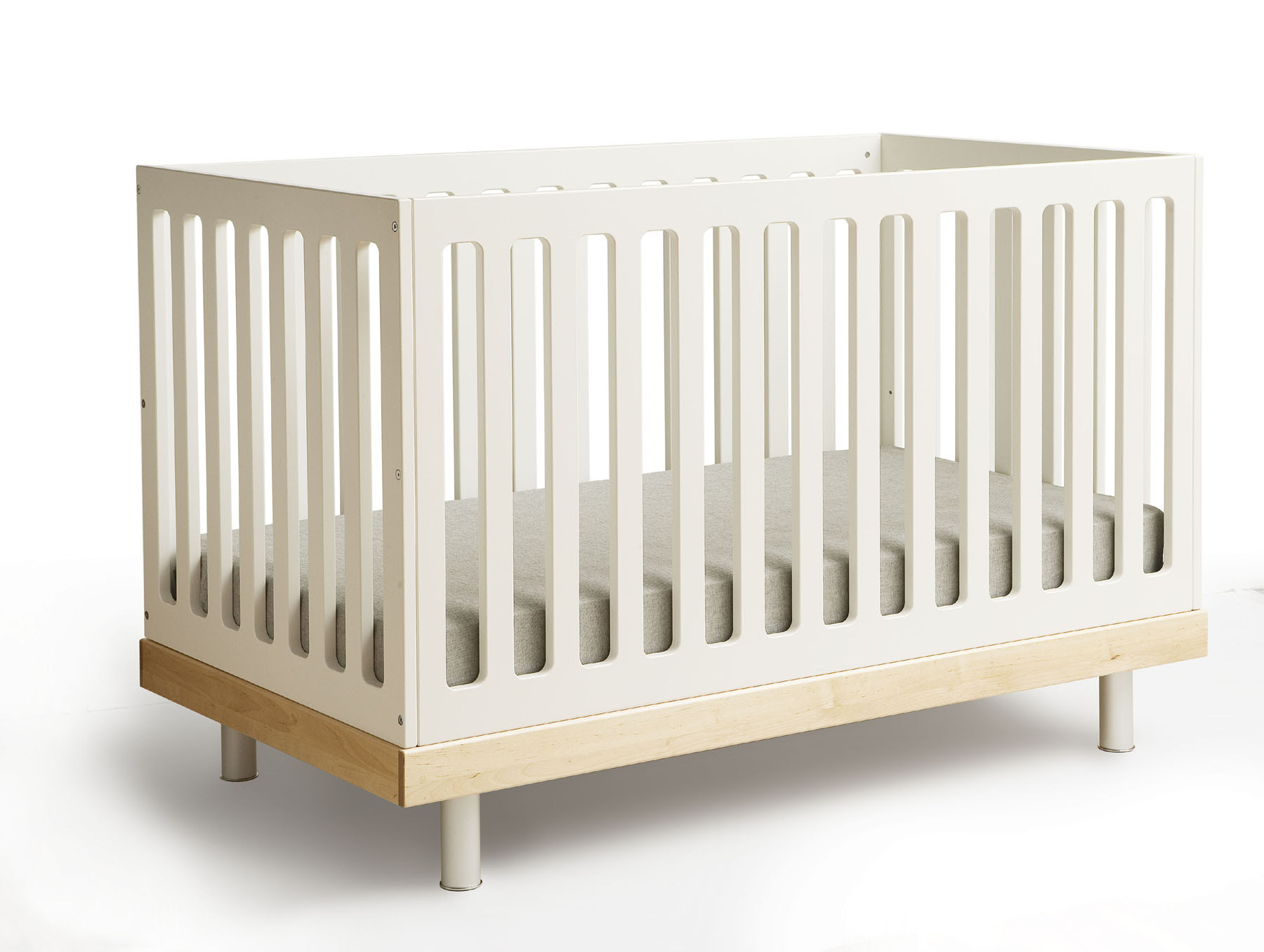 Simple baby crib designed by IKEA