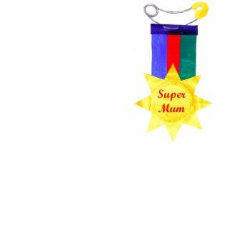 'SuperMum' T-shirt shirt
