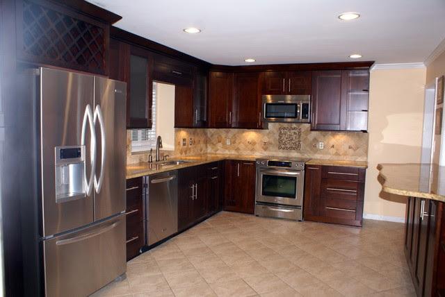 Small Kitchen Makeover  Modern  Kitchen  atlanta  by Atlanta Legacy Homes, Inc.