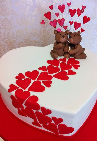 افكار لكعكات عيد الحب (10)