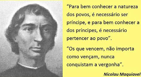 Maquiavel e o sistema politico brasileiro.