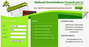 How to Check Your NECO Results | neco online