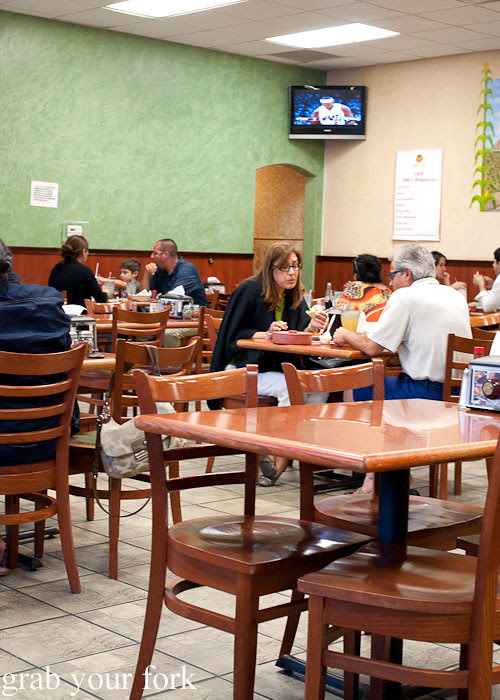 dining room at tamales lilianas restaurante mexican in east los angeles