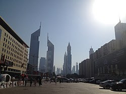 This is a photo of Dubai World Trade Centre on...