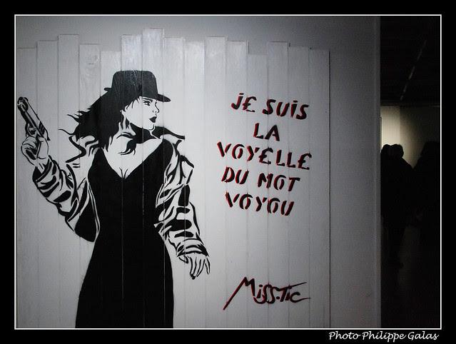 Musée de la Poste - Miss Tic