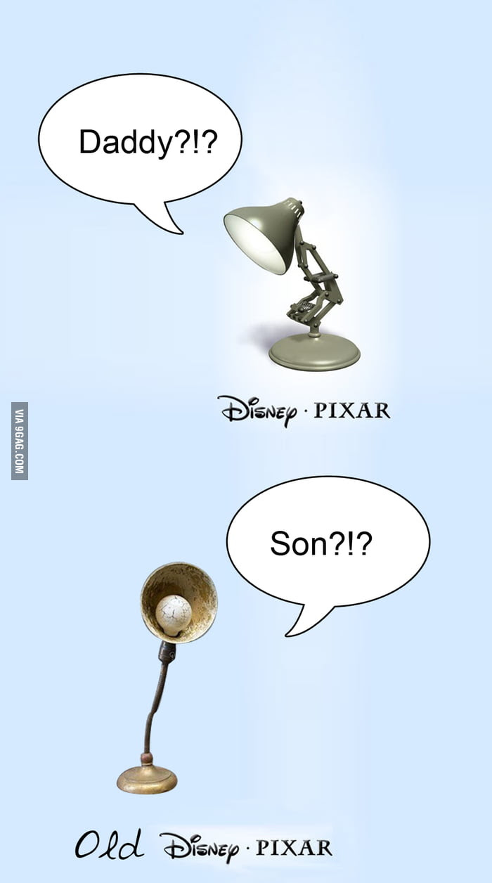 Pixar lamp has a father! - 9GAG
