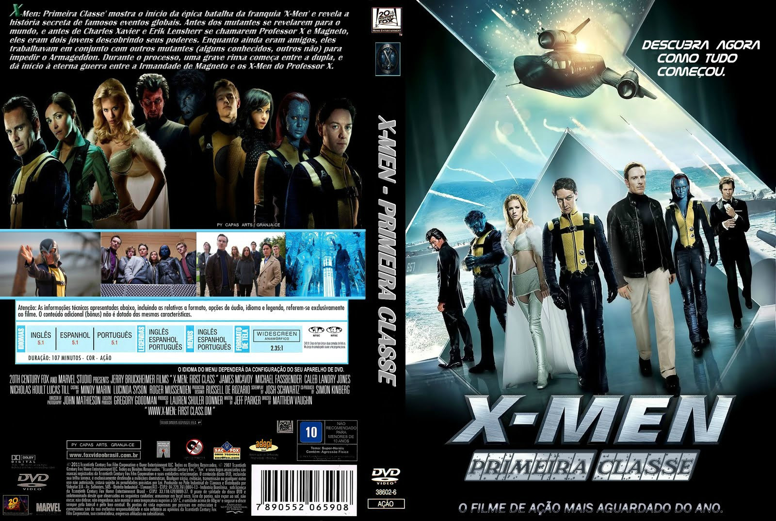 X-men Primeira Classe Torrent- Legendado (2013)e