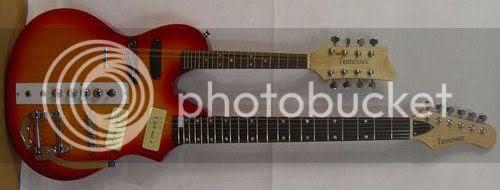Tennessee mandolin guitar doubleneck
