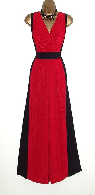 Long black evening dress size 10