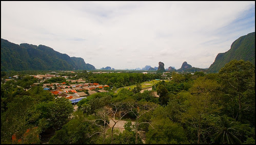 View of Phang Nga Town