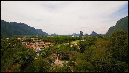 View of Phang Nga Town