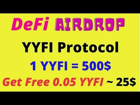 YYFI Protocol Airdrop | Get Free 0.05 YYFI Token = $25