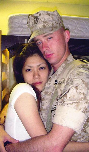 Interracial Marriage Marine