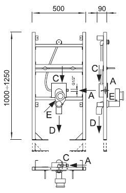 Berühmt Duschwand dichtungslippe: Vorsatzschale wc tiefe ET54