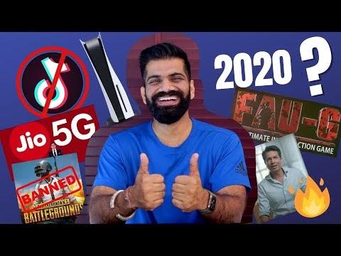 2020 : TikTok Ban, PUBG Ban, Micromax Comeback, PUBG Mobile India, FAUG, PS5 Etc