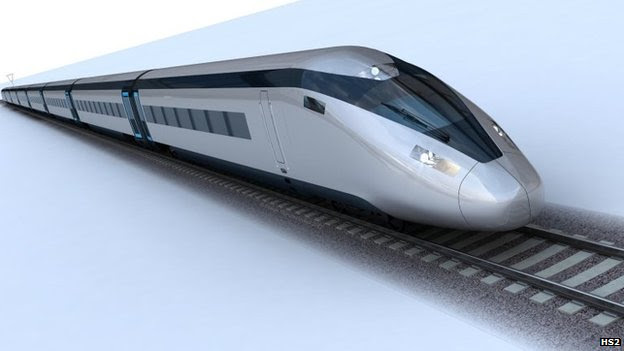 A high speed train