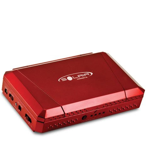 Solar Portable Charger (Red)