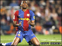 Cameroon and Barcelona Samuel Eto'o