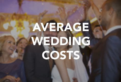 How much the average wedding cost in 2015, item by item